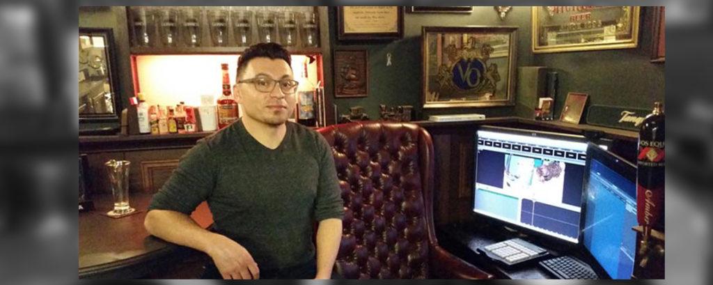 Portrait // Nedy Acet, l'acteur du studio