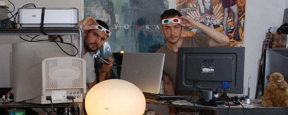 Raphaël Hernandez (à g.) et Savitri Joly-Gonfard (à d.) forment Seth Ickerman