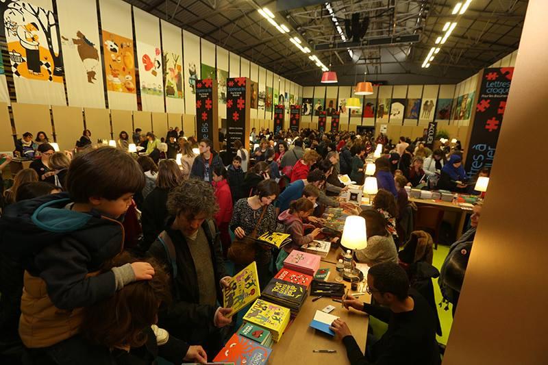 Vie de l'école // Fête du livre jeunesse de Villeurbanne : 20 ans de partenariat !