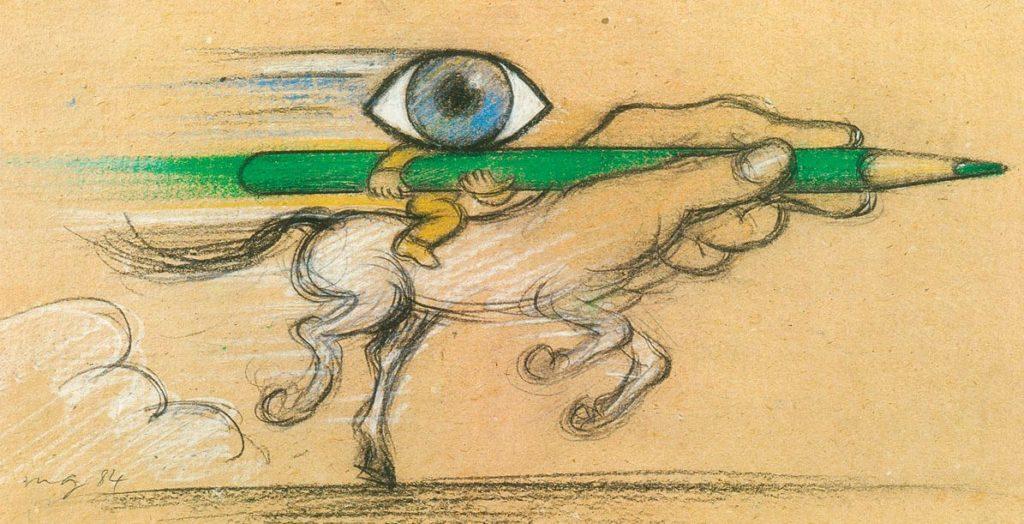 Rétrospective // Les fantaisies de l'imaginaire de Maurice Garnier