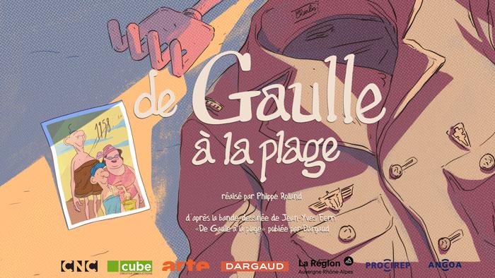 Affiche De Gaulle à la plage