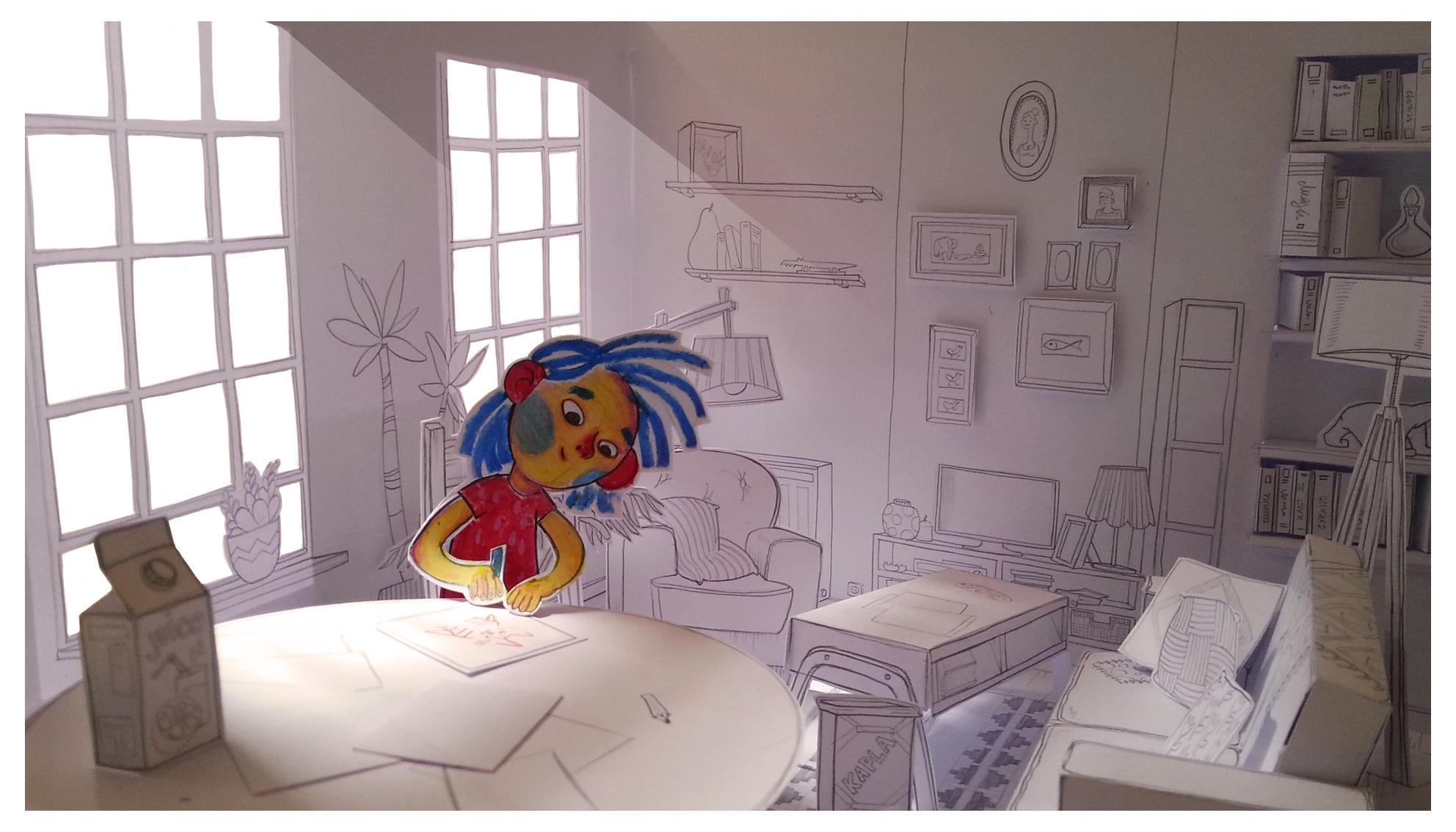Toonboom Harmony - Animation cut-out avancée