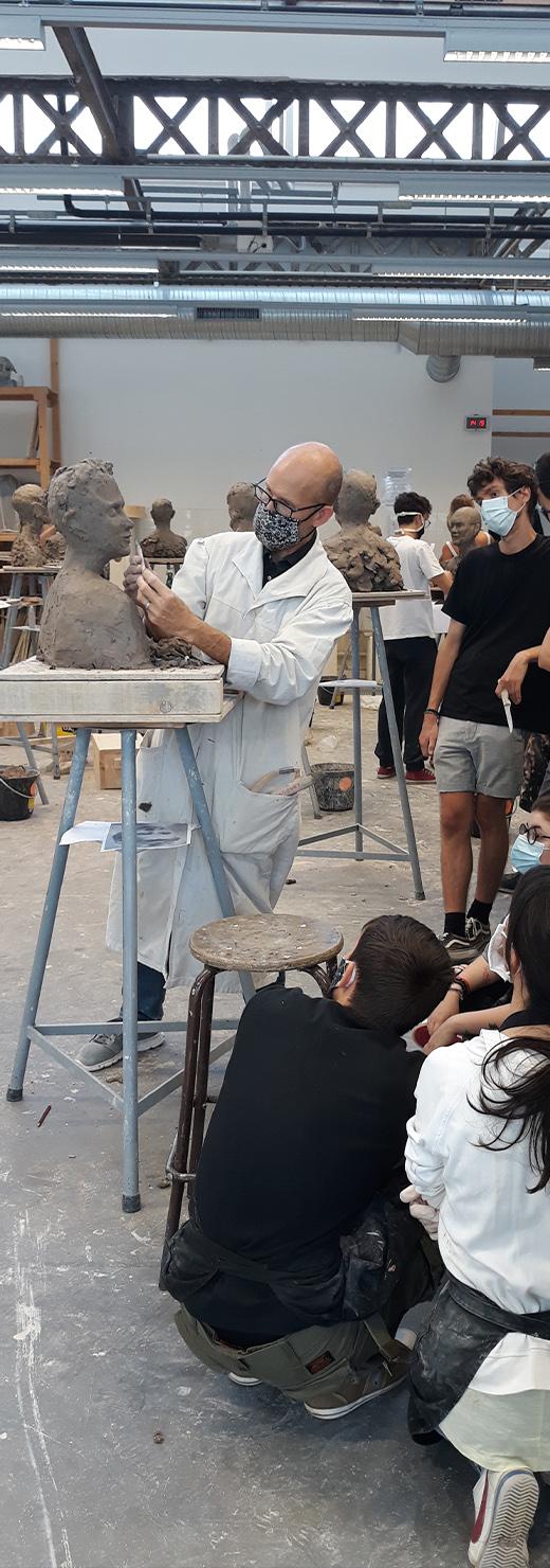 Atelier<br />sculpture T1