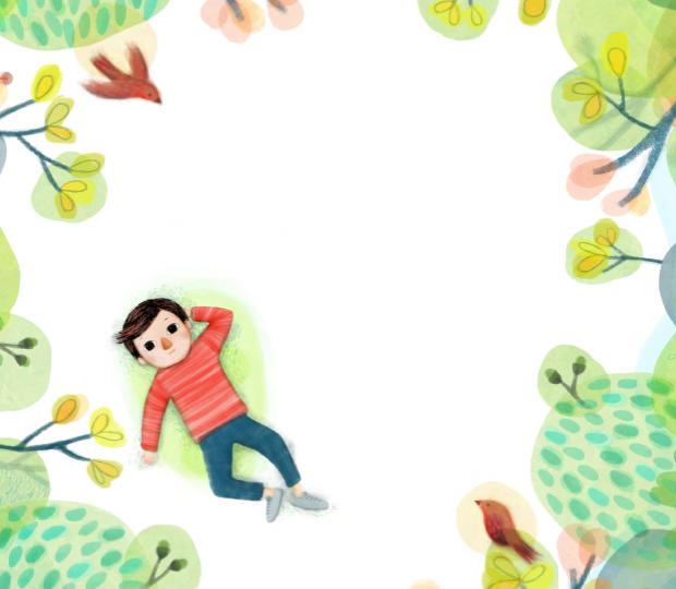 Narration et mise en scène d'un personnage en illustration jeunesse