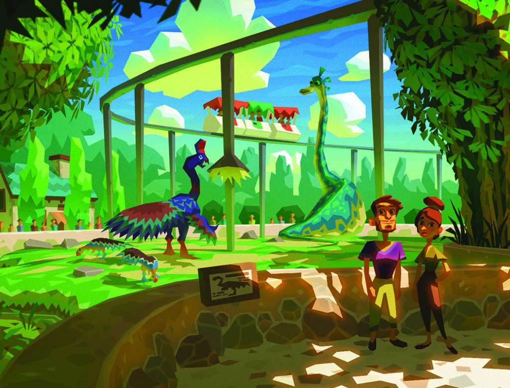 Le Parc jurassique