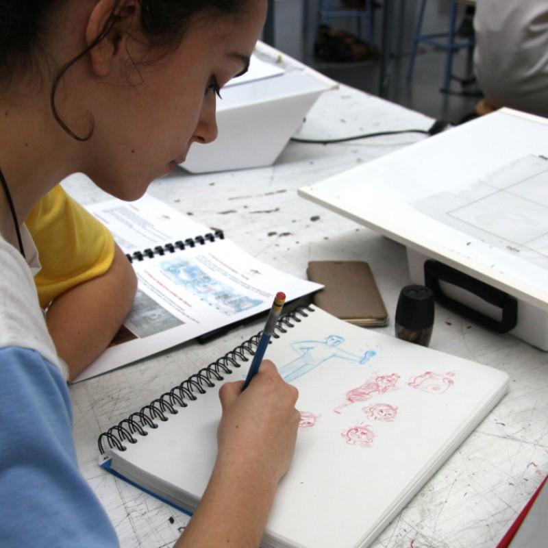 Initiation au dessin dessin animé